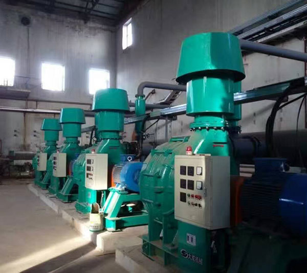 Customer using site of Multistage centrifugal blower