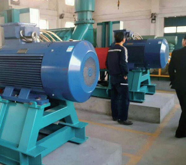 Customer using site of Multistage centrifugal blowers