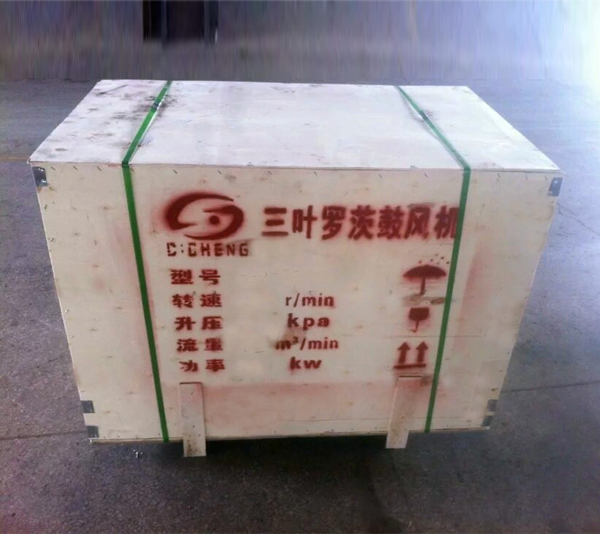 Package of the roots blowers