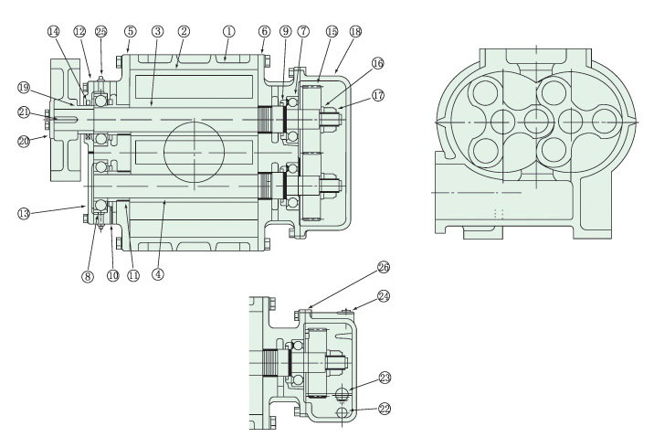 Blower Structure Diagram