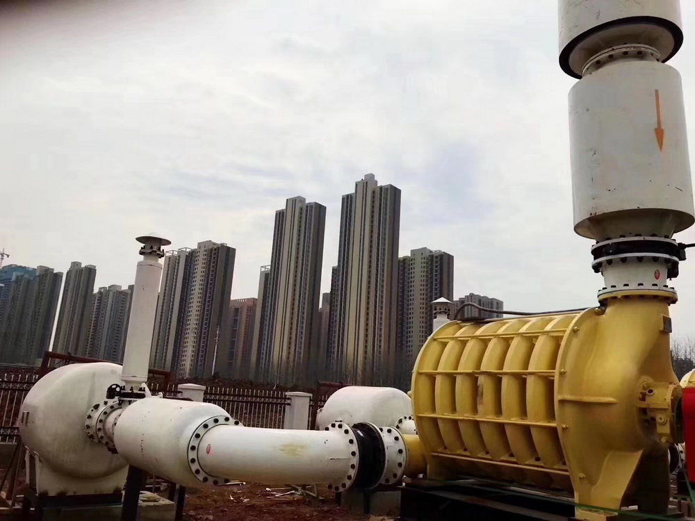 Application of Dacheng Blower in Landfill Gas Collection Technology