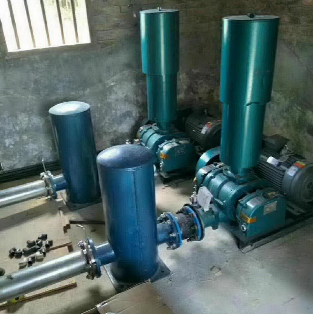Installation problems and quality control of Roots blower in sewage treatment