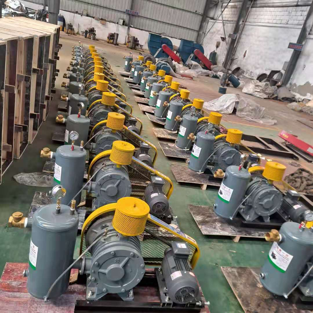 Low noise sewage treatment aeration blower-rotary vane blower