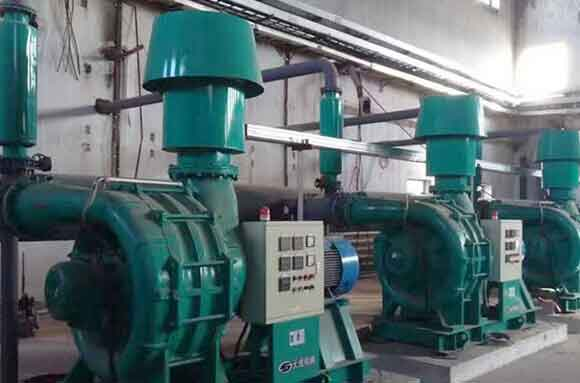 Multistage centrifugal blower project 1