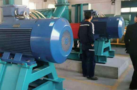 Multistage centrifugal blower project 6