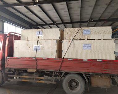 DSR200G Water Cooling Roots blower shipped to Africa