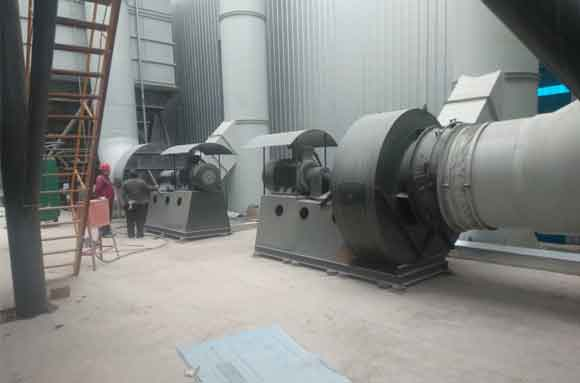 Centrifugal blower project 18