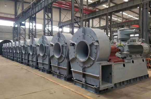 Centrifugal blower project 24